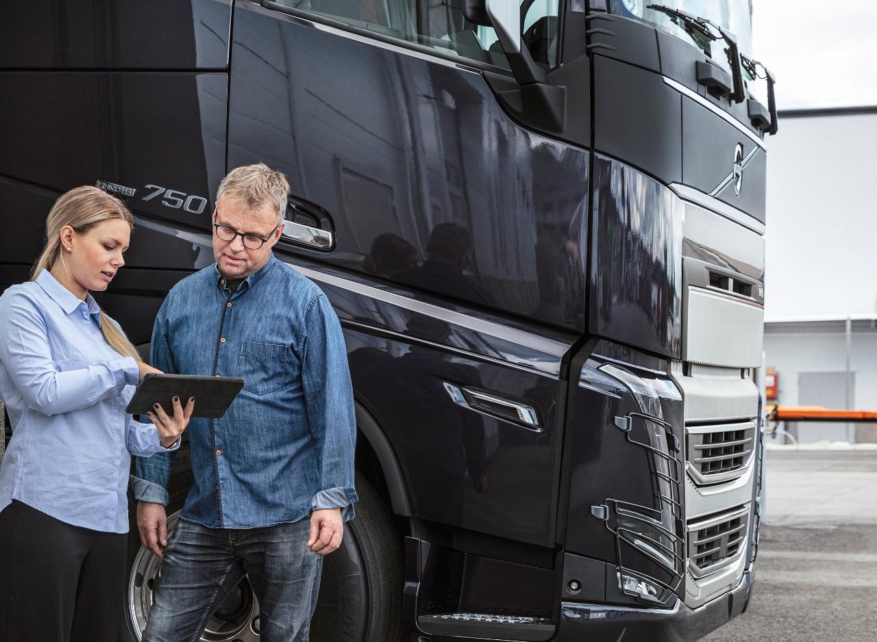 Робота з Volvo Connect на портативному комп'ютері